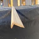 Уголок деревянный гладкий  20x40х3м