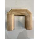 Поворот поручня 60х80  180 градусов деревянный