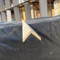 Уголок деревянный гладкий 30x30х3м